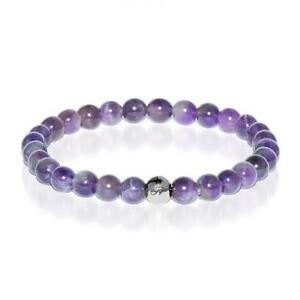 50% OFF All Jewellery - Leadership | Silver Essence Amethyst Bracelet