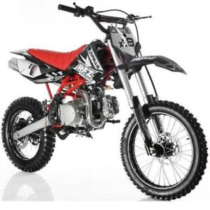 Apollo 125CC DIRT BIKE ON SALE WHILE SUPPILES LAST !