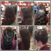Cold Fusion (Micro Link) Hair Extensions Rallonges Micro-anneaux
