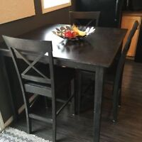 Pub Style Dining Table and 4 Chair Need gone ASAP