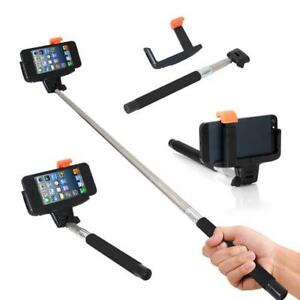 Bluetooth Selfie Stick. Extends 4 foot. Fit to 7'' phones – NEW