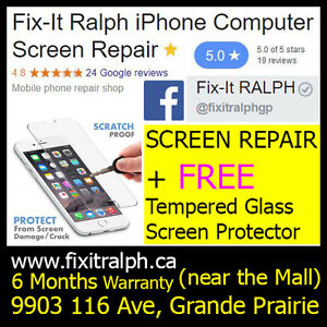 iPhone 6 Broken LCD Glass Screen Repair for SALE $90