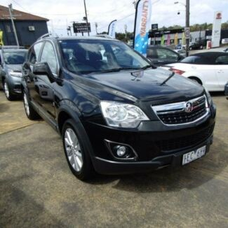 2015 Holden Captiva CG MY15 5 LT (AWD) Black 6 Speed Automatic Wagon