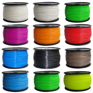 3D Printing Filament - PLA, ABS, Various Colours @ TechAlley