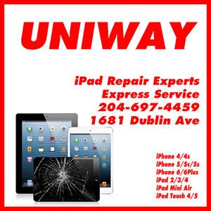 UNIWAY WINNIPEG iPad iPhone iTouch Repairs Services