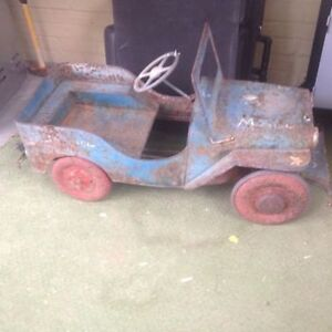 WANTED: antique pedal car, tractor, scooter, wagon, tin toys etc London Ontario image 6