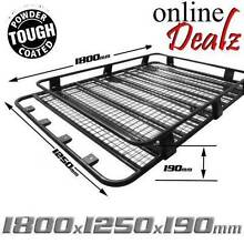 Black Universal Steel Roof Rack Basket Gutter Mount 1800 x 1250mm Castle Hill The Hills District Preview
