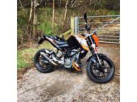 KTM Duke 125 ideal learner ...