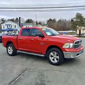 2016 Ram 1500 SLT LIFTED WITH 35 INCH AGGRESSIVE TIRES