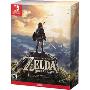 Zelda Breath of the wild ( the special edition) Unopened