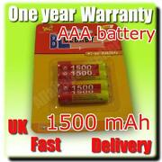 AAA Rechargeable Batteries 1500