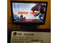 "LG 22LG3100 TV 22"" HD Ready LCD screen"
