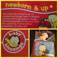 Still in package - INFANT BOOK w/ACCESSORY