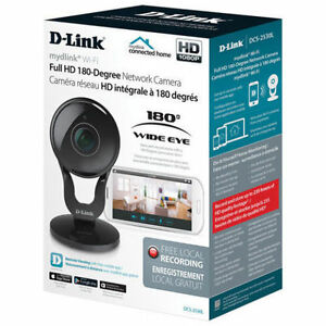 D-Link WiFi Indoor 180-Degree HD IP Camera Model #:DCS-2530L NEW