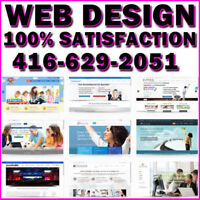 ✔️Affordable Web Design+SEO ⭐️100% Satisfaction! ☎️416.629.2051
