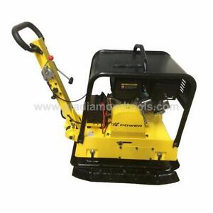 Plate Compactor/Tamper plate, Electric Start / Brand new (Revers