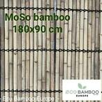 ECO BAMBOO EUROPE moso tuinscherm 180x90 cm de splinter ulft