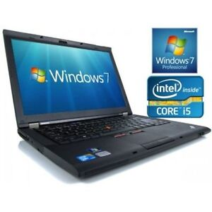 LAPTOP Lenovo T420 Core i5 2nd Gen 2.5GHz 4GB RAM 320HD Win 7
