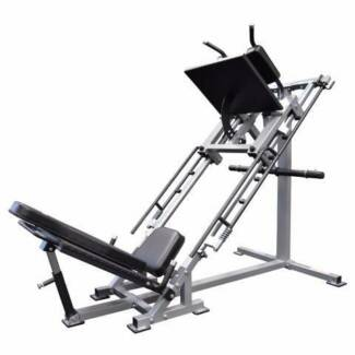 Leg Press 45 Degree & Hack Squat NEW + 24m WARRANTY