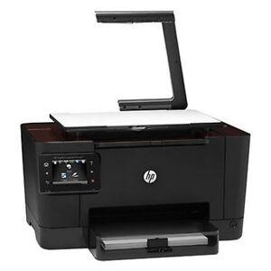 HP Color LaserJet Pro printer with Top Shot 3D scanner