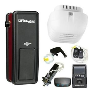 LIFTMASTER 8500 SIDE MOUNT GARAGE DOOR OPENER INSTALLED