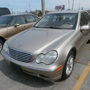 GOOD CARS ONLY TRADE-IN BLOWOUT! 2001 Mercedes-Benz C-320 Sedan