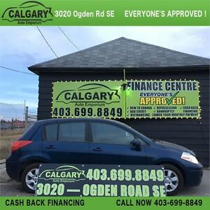 *IMMACULATE* 2009 NISSAN VERSA HBACK FWD 4 CYL 1.8L (BLUE) 128KM