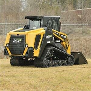 ASV RT120 Forestry Skid Steer