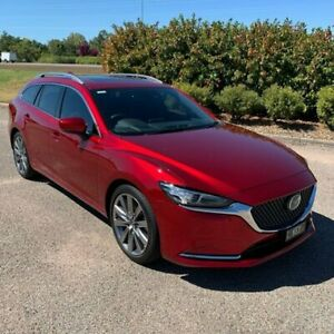 2019 Mazda 6 GL1032 Atenza SKYACTIV-Drive Red 6 Speed Sports Automatic Wagon Garbutt Townsville City Preview