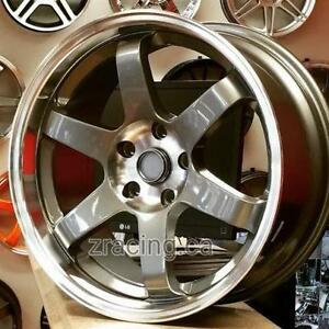 18x9 5x114.3 TE37 Replica ($600 CASH 4New Rims 1 Rim Minor Scratch ) Rims for Honda Mazda Lancer Hyundai 905 673 2828