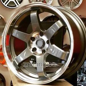 18x9 5x114.3 TE37 Replica ($600 CASH 4New Rims 1 Rim Minor Scratch ) Rims for Honda Mazda Lancer Hyundai 905 673 2828