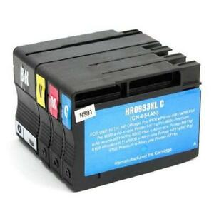 HP 932XL and HP 933XL - Remanufactured Ink Cartridges Combo 932X