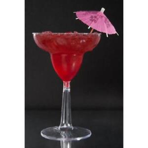 12 oz. Plastic Margarita with Clear Base - 2 Piece 144 / Case *RESTAURANT EQUIPMENT PARTS SMALLWARES HOODS AND MORE*
