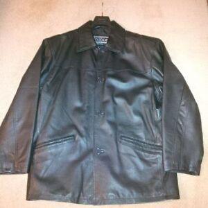Classic Men's Leather Jacket Windsor Region Ontario image 1