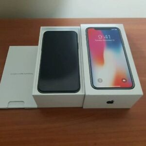 iPhone X 256GB Space Grey Mint Condition Unlocked
