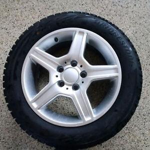 Blizzak Snow Tires with Alloy Rims