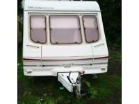 4 berth swift 2001 with awning and extras