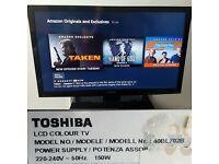 TOSHIBA 40BL702B 40 INCH FULL HD ULTA THIN 1080P LED TV