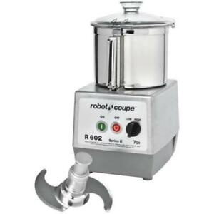 Robot Coupe R602B Two Speed Food Processor with 7 qt. SS .*RESTAURANT EQUIPMENT PARTS SMALLWARES HOODS AND MORE*