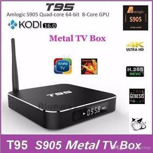 ???SPECIAL ??? T95 MAX TV BOX IPTV S905 1080 HD 4K KODI XBMC
