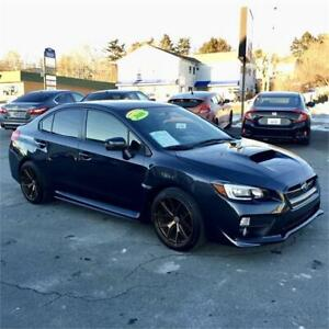 2016 Subaru WRX  6 speed manual with sunroof/back up camera