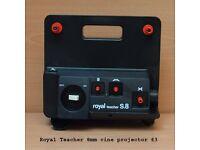 Cine projector boxed as new £3, Royal Teacher 8mm Cine projector