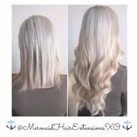 ✨LUXURY MERMAiD HAiR EXTENSiONS✨VOTED TOP 15 BY NARCITY TORONTO!
