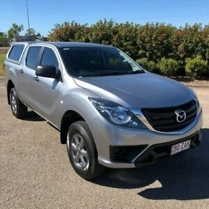 2019 Mazda BT-50 UR0YG1 XT Silver 6 Speed Sports Automatic Utility Garbutt Townsville City Preview
