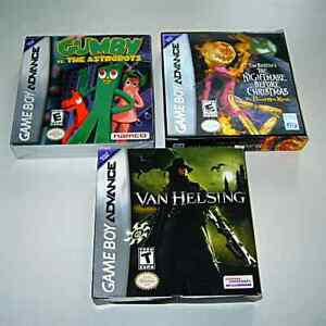 Game Boy adv:Van Helsing 5$ /Nightmare before Christmas 17$
