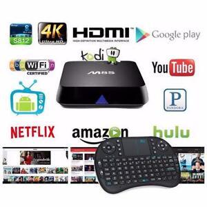 IPTV Android TV BOX KODI XBMC MXQ M8S M8S+ MX3 K1 K3