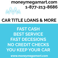 CAR TITLE LOAN IS DONE ONLINE AND NOT NECESSARY TO COME IN STORE