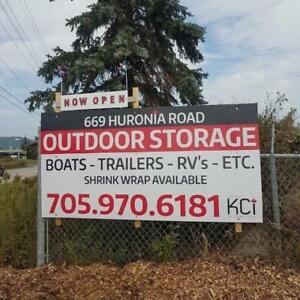 OUTDOOR STORAGE in BARRIE