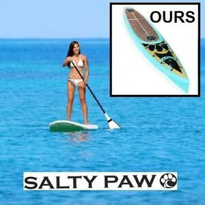 NEW SALTY PAW 12'  SUP PADDLEBOARD 173063632 STAND UP PADDLE BOARD BUNDLE
