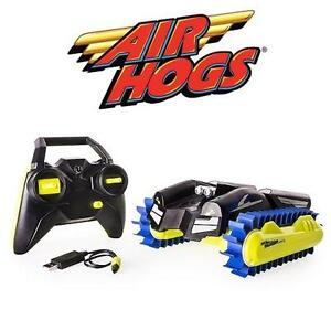 NEW AIR HOGS THUNDER TRAX VEHICLE 2.4 GHZ RC VEHICLE - TRANSFORMS FROM TANK TO BOAT 105932561